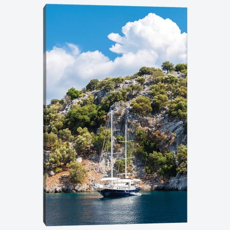 Yachting Canvas Print #NEJ210} by Nejdet Duzen Canvas Wall Art