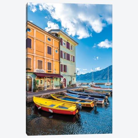 Castelletto Town, Italy Canvas Print #NEJ225} by Nejdet Duzen Canvas Wall Art