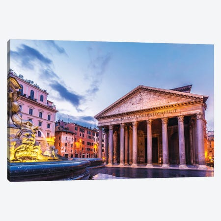Rome Canvas Print #NEJ236} by Nejdet Duzen Art Print