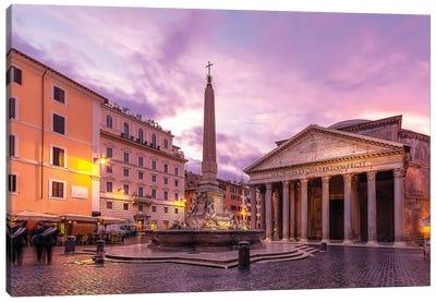 Pantheon Square Canvas Art Print