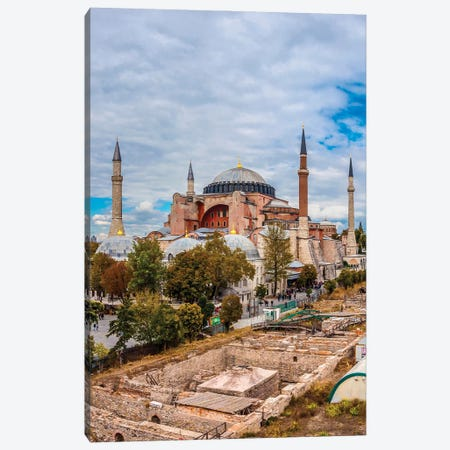 Hagia Sophia, Istanbul Canvas Print #NEJ238} by Nejdet Duzen Canvas Artwork