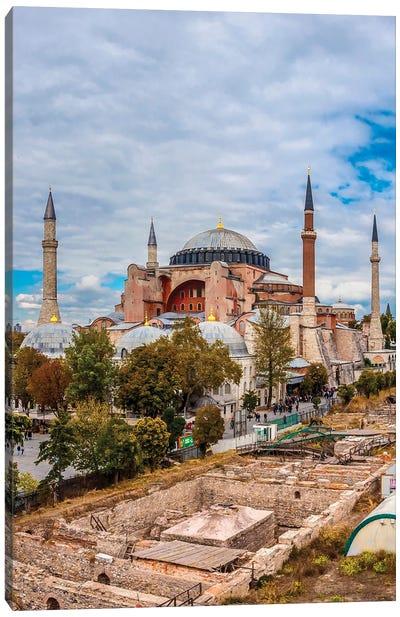 Hagia Sophia, Istanbul Canvas Art Print