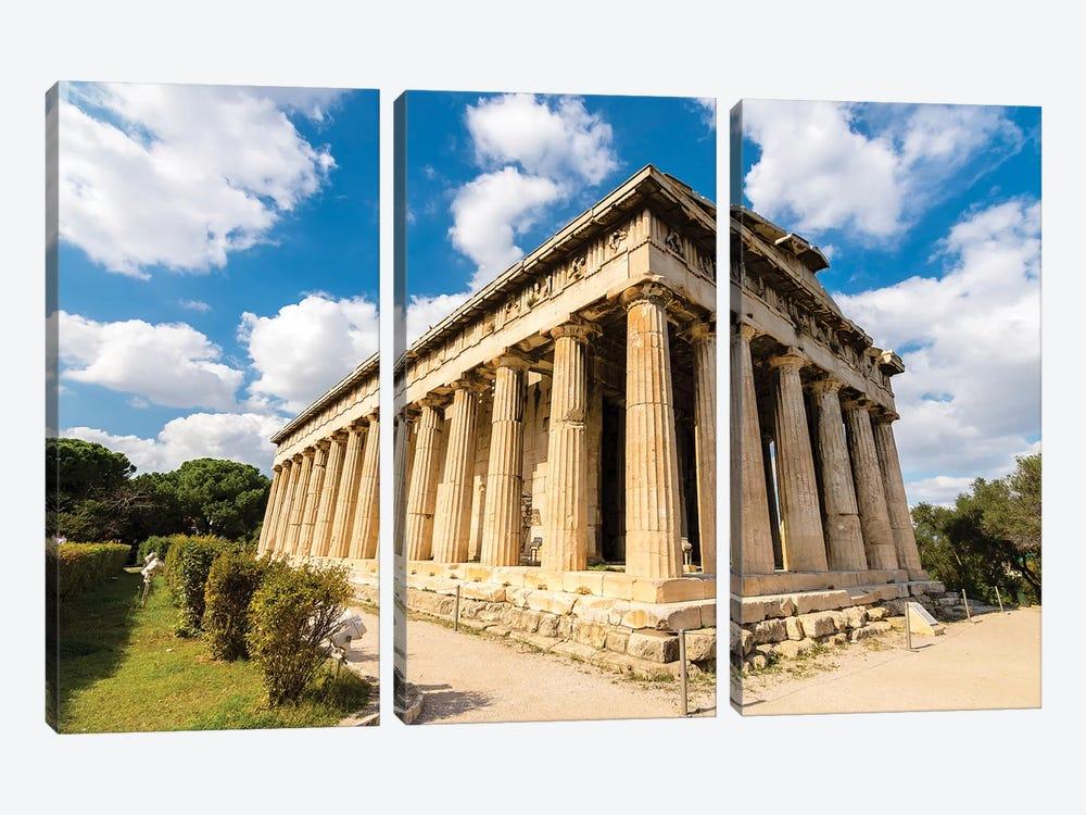 Athens, Greece I by Nejdet Duzen 3-piece Canvas Wall Art