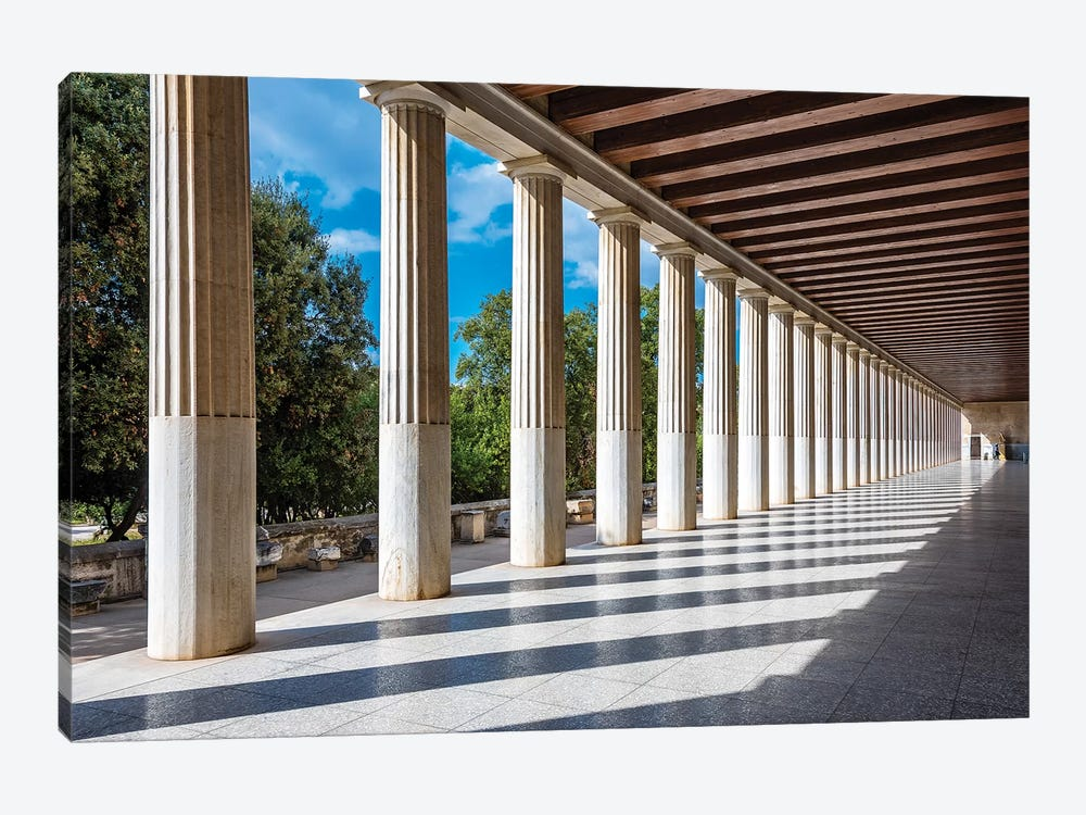 Athens, Greece III by Nejdet Duzen 1-piece Canvas Art