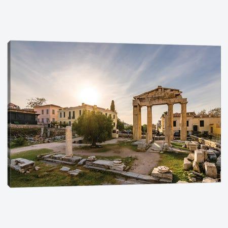 Athens, Greece VI Canvas Print #NEJ35} by Nejdet Duzen Canvas Artwork