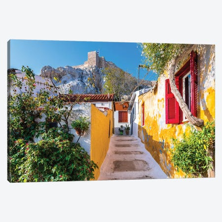 Athens, Greece IX Canvas Print #NEJ38} by Nejdet Duzen Art Print