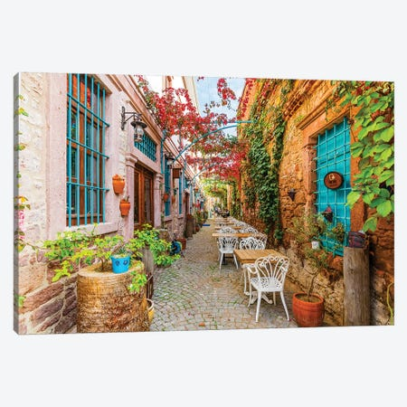 Ayvalik, Turkey I Canvas Print #NEJ41} by Nejdet Duzen Canvas Art