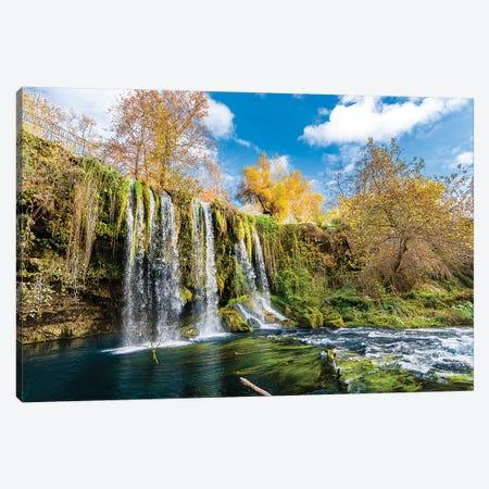 Duden Waterfall, Antalya,Turkey I Canvas Print #NEJ66} by Nejdet Duzen Canvas Art Print