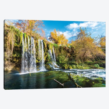 Duden Waterfall, Antalya,Turkey IV Canvas Print #NEJ69} by Nejdet Duzen Canvas Art