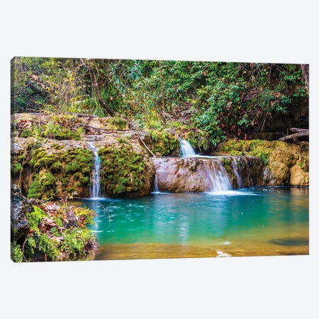 Kursunlu Waterfall, Antalya,Turkey II Canvas Print #NEJ74} by Nejdet Duzen Canvas Artwork
