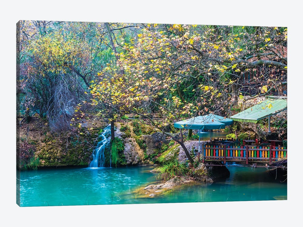 Kursunlu Waterfall, Antalya,Turkey III by Nejdet Duzen 1-piece Art Print