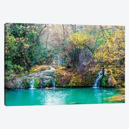 Kursunlu Waterfall, Antalya,Turkey IV Canvas Print #NEJ76} by Nejdet Duzen Canvas Wall Art