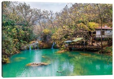Kursunlu Waterfall, Antalya,Turkey V Canvas Art Print