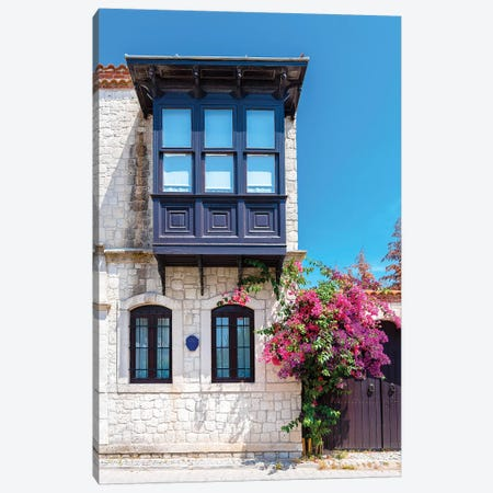 Alacati, Turkey I Canvas Print #NEJ7} by Nejdet Duzen Canvas Wall Art
