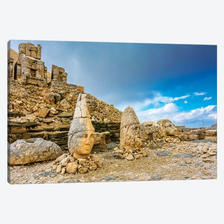 Nemrut Mountain,Turkey III Canvas Print #NEJ80} by Nejdet Duzen Canvas Art
