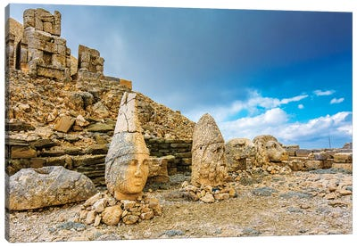 Nemrut Mountain,Turkey III Canvas Art Print