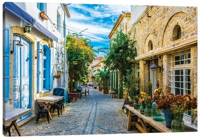 Alacati,Turkey III Canvas Art Print