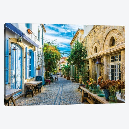 Alacati,Turkey III Canvas Print #NEJ9} by Nejdet Duzen Art Print