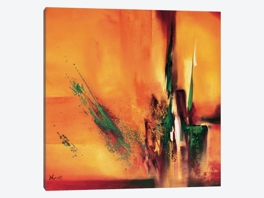 Abstract Impressions Ll by Nelly Geurts 1-piece Canvas Art