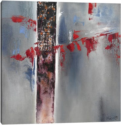 Red Splash I Canvas Art Print