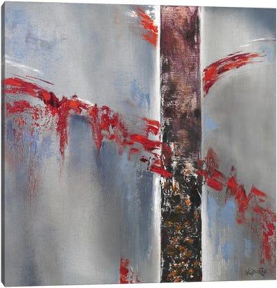 Red Splash II Canvas Art Print