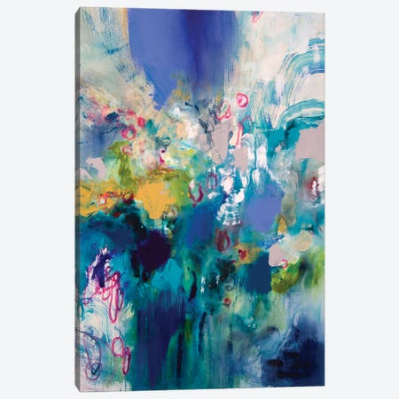 Ultramarine I 3-Piece Canvas #NER12} by Jennifer Gardner Canvas Print