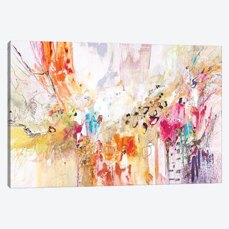 White Series IV Canvas Print #NER17} by Jennifer Gardner Canvas Art