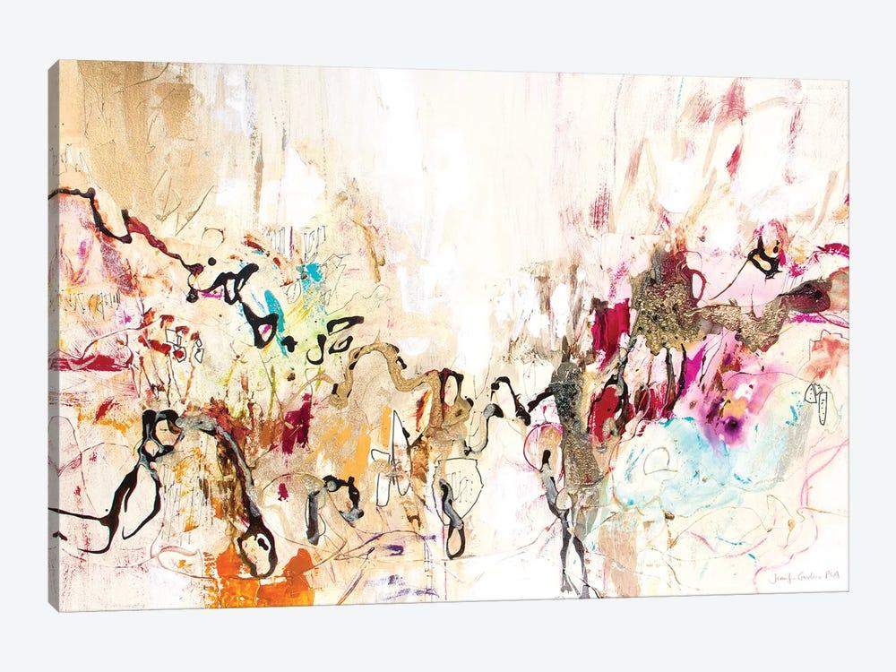 White Series IX by Jennifer Gardner 1-piece Canvas Wall Art
