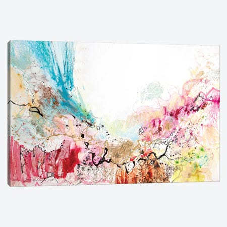 White Series V 3-Piece Canvas #NER19} by Jennifer Gardner Art Print