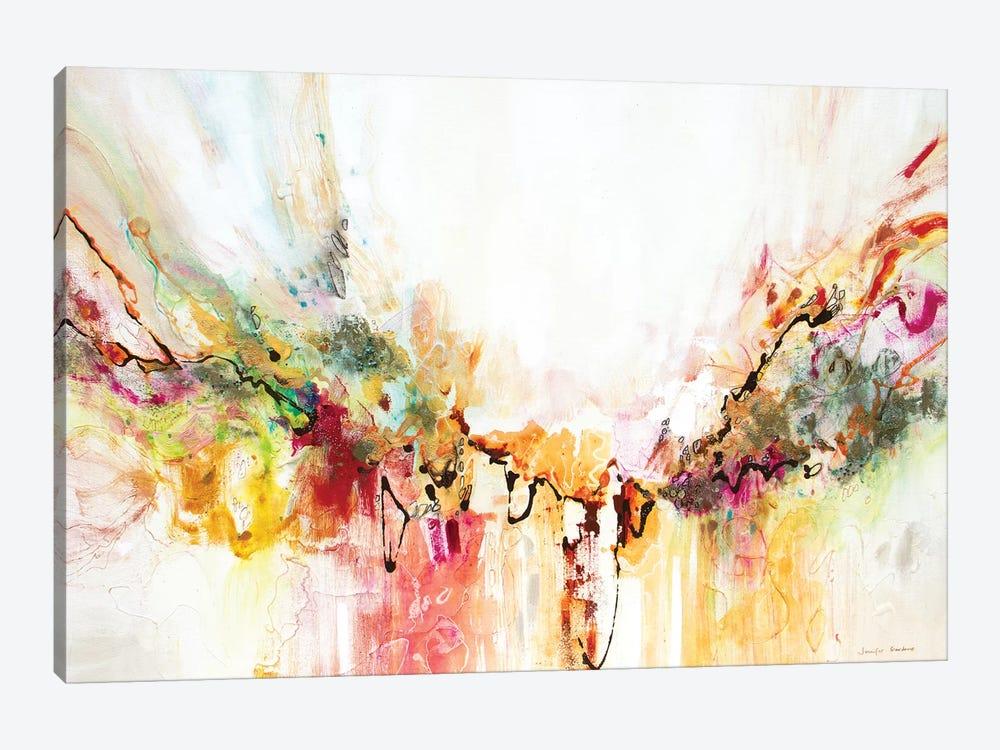 White Series VIII by Jennifer Gardner 1-piece Canvas Art Print