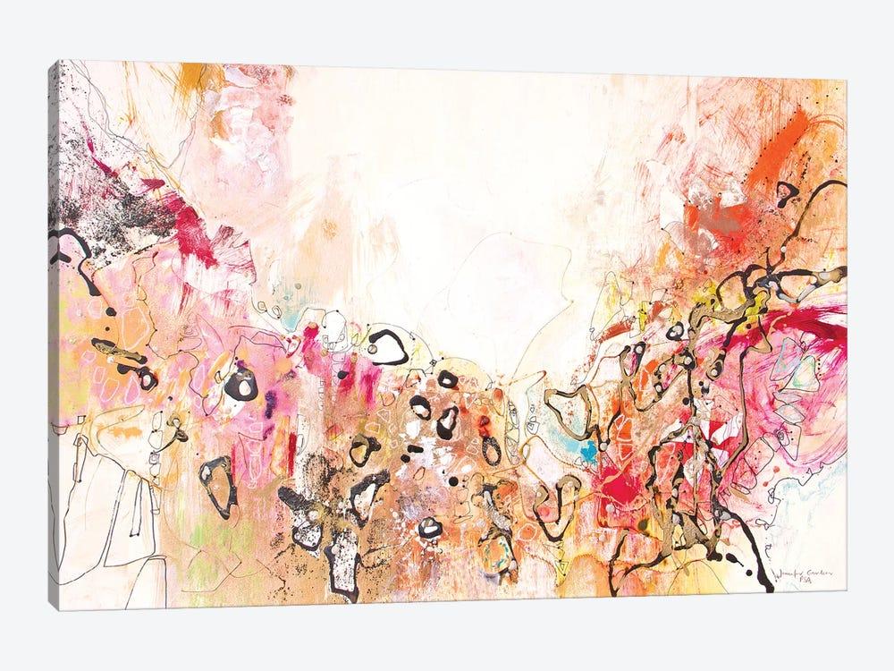 White Series X by Jennifer Gardner 1-piece Canvas Art