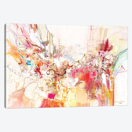 White Series XI Canvas Print #NER24} by Jennifer Gardner Art Print