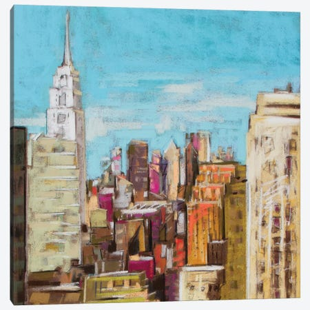 City Color I Canvas Print #NER26} by Jennifer Gardner Canvas Art Print