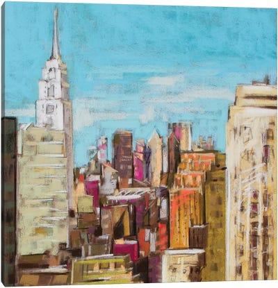 City Color I Canvas Art Print