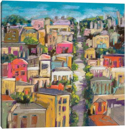 City Color II Canvas Art Print