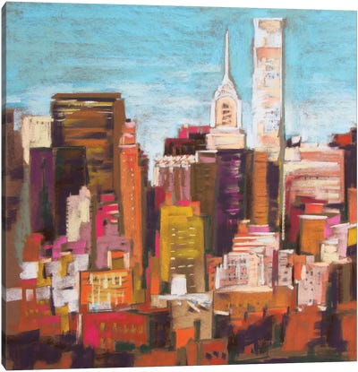 City Color III Canvas Art Print