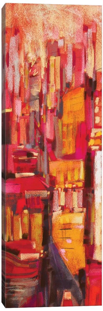 Pink City Sunrise I Canvas Art Print