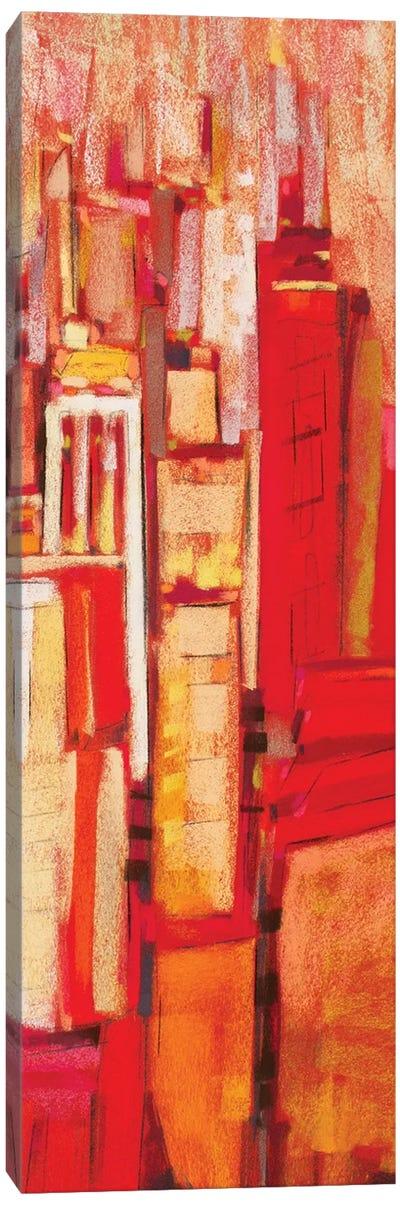 Pink City Sunrise II Canvas Art Print