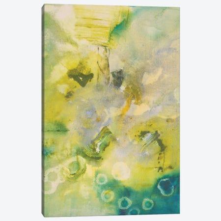Turquoise Flow II Canvas Print #NER32} by Jennifer Gardner Canvas Print