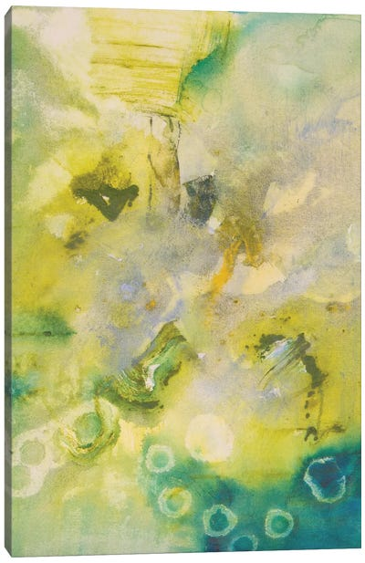 Turquoise Flow II Canvas Art Print