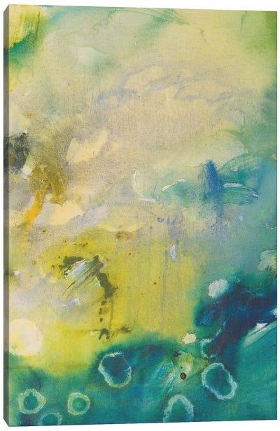 Turquoise Flow III Canvas Art Print