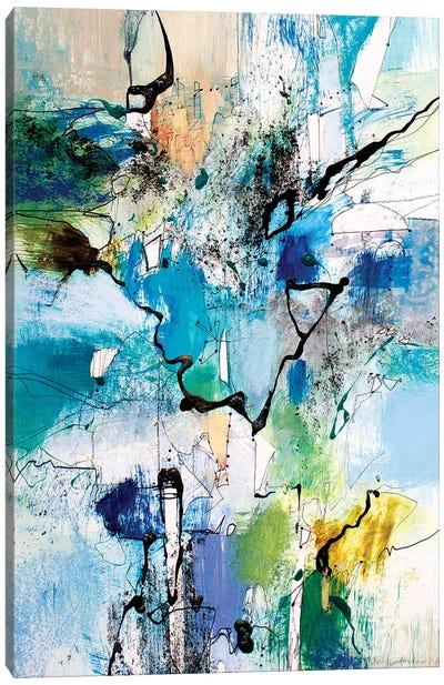 Blue and Green I Canvas Art Print