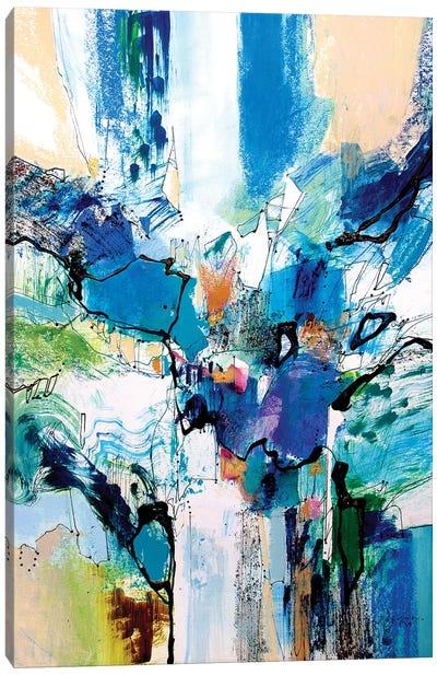 Blue and Green II Canvas Art Print