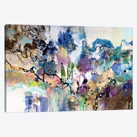 Rainbow Blue I Canvas Print #NER37} by Jennifer Gardner Canvas Artwork