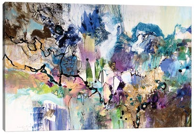 Rainbow Blue I Canvas Art Print