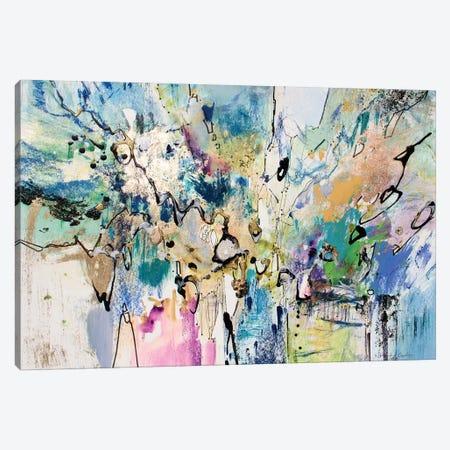 Rainbow Blue II Canvas Print #NER38} by Jennifer Gardner Canvas Art Print