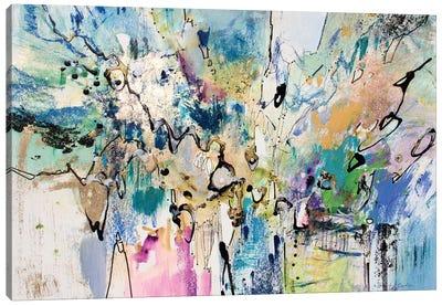 Rainbow Blue II Canvas Art Print