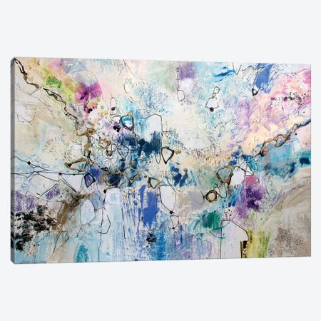 Rainbow Blue III 3-Piece Canvas #NER39} by Jennifer Gardner Art Print