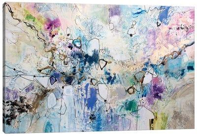 Rainbow Blue III Canvas Art Print