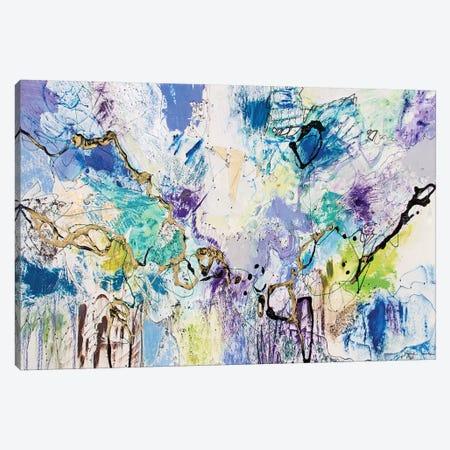 Rainbow Blue IV Canvas Print #NER40} by Jennifer Gardner Canvas Artwork